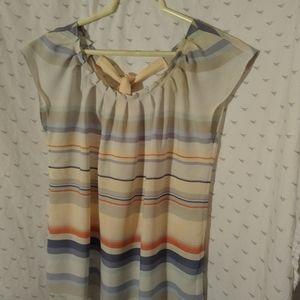 Lauren Conrad striped blouse